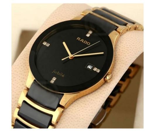 db687bd87622 Rado Centrix Jubile Black   Golden Watch For Men Ownstore.pk